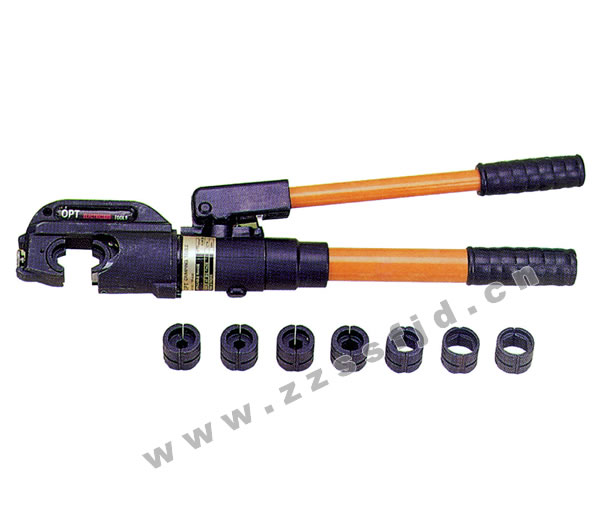 产品名称: tp-400手动液压钳 所属类别: 〔油压端子压接钳工具〕图片